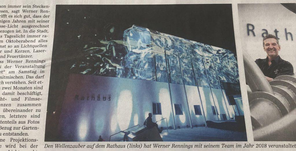 Aktueller Presseartikel: Die Stuttgarter Zeitung 12./13. Oktober